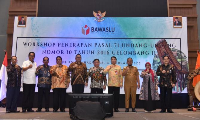 Pemprov Sulsel Mengapresiasi Workshop Penerapan Aturan Netralitas ASN, TNI, Polri