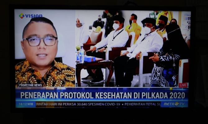 Registered With The Kpu 141 Bapaslon Allegedly Violated Health Protocol Regulations Badan Pengawas Pemilihan Umum Republik Indonesia