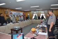 - Rapat Koordinasi Persiapan Pelaksanaan Pemilu kepala daerah di kabupaten Bangka Tengah, Bangka Barat, Bangka Selatan dan kabupaten Belitung Timur di kantor Bawaslu Provinsi Kepulauan Bangka Belitung tanggal 15 april 2015