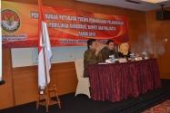Pimpinan Bawaslu RI Memberikan Arahan tentang Penyusunan Juknis Penanganan Pelanggaran Pemilihan Gubernur, Bupati dan Walikota Tahun 2015