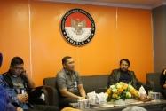 Kepala Bagian Humas dan Hubal Hengky Pramono, membuka secara langsung pada kegiatan Forum Group Discution (FGD) terkait Pengelolaan serta Pengoprasian Studio Mini di Lt. 4 Gedung Bawaslu RI, Kamis (22/1).