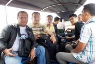 Tim pengawasan Pilpres yang dipimpin Pimpinan Bawaslu RI Nasrullah menuju Pulau Sebatik menggunakan speed boat dengan lama perjalanan sekitar  satu jam dari pelabuhan Nunukan, Sabtu (28/6) sekitar pukul 08.30 wit. Sementara tim yang dipimpin Endang W berangkat ke Tawau pada hari yang sama.