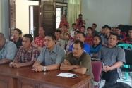 Panwascam,KPPS, PPS, PPL dan PPK di Kecamatan Entikong Kab Sanggau Kalbar (perbatasan wilayah Indonesia - Malaysia)