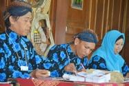 Petugas KPPS TPS 09 Kelurahan Gunungketur, Pakualaman, Yogyakarta
