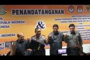 MoU Sentra Gakkumdu dan Pengawasan Iklan Kampanye Pilkada 2015