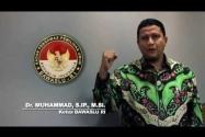 Sejuta Relawan oleh Ketua Bawaslu Muhammad